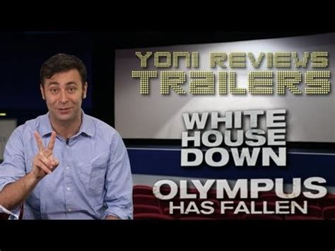 film olympus has fallen youtube white house down and olympus has fallen trailer review