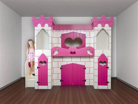 Princess Bunk Beds With Stairs Princess Castle Bed With Slide And Stairs Pictures Reference