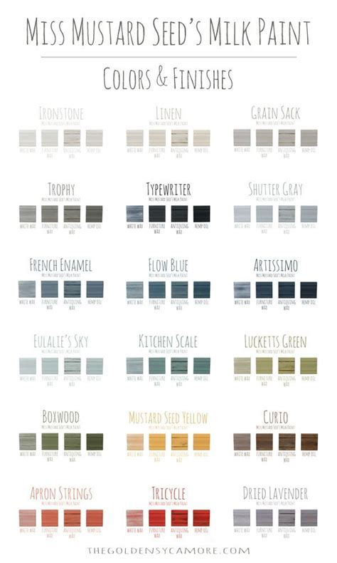 milk paint color chart handy home design pin by allison the golden sycamore on diy boards pinterest
