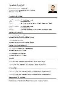 Plantilla De Curriculum Vitae En Word Para Llenar Curriculum Vitae Word Para Completar Gratis