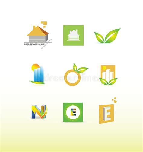 Logo Design Elements Set Stock Vector Illustration Of Building 64757365 Vector Company Logo Element Template