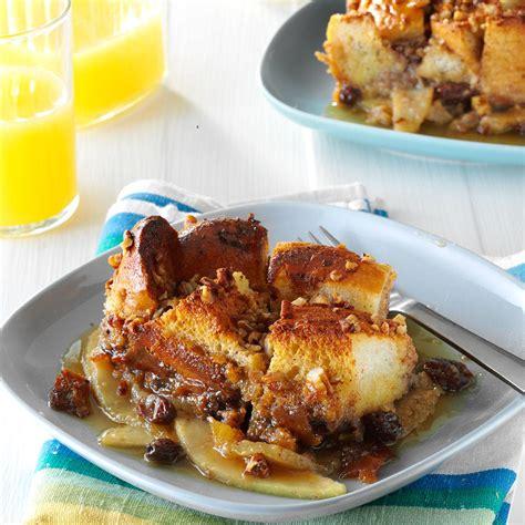 pear stuffed vanilla toast recipe taste of home