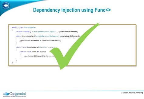 dependency injection using setter method dependency injection vs service locator best practice