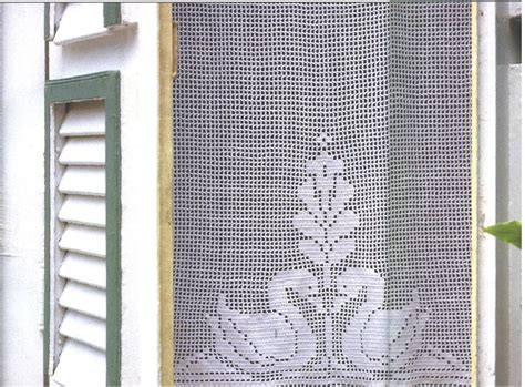 filet crochet curtains needle works butterfly filet crochet curtains