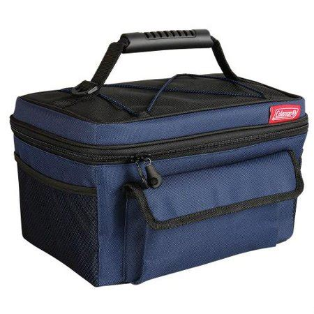 10 Can Rugged Lunch Box - coleman 14 can soft cooler blue black rugged lunch box