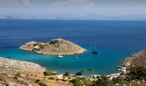 Agia Marina beach, an oasis with crystal clear waters in
