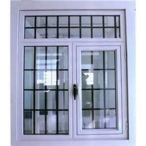 Shatter Proof Home Windows Decor Steel Window Grills Design