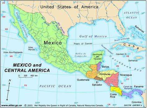 map of usa mexico and central america map of mexico and central america map mexico and central