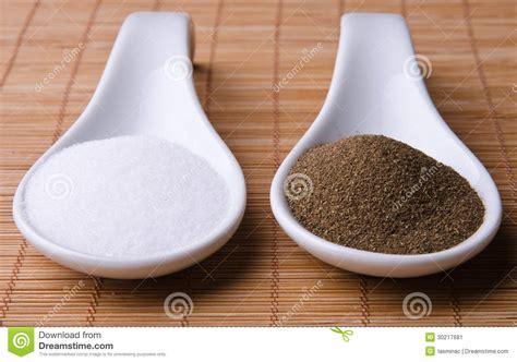 sal y pimienta sal y pimienta imagen de archivo imagen de blanco fresco