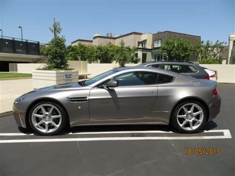 Aston Martin For Sale California by Find Used My Beloved Aston Martin Vantage V8 For Sale
