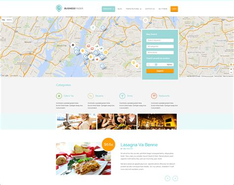 best directory wordpress themes free premium templates