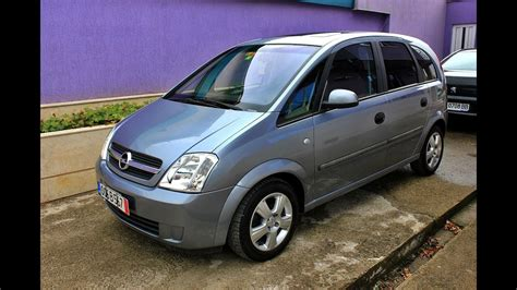 opel meriva 2004 opel meriva 1 6 exclusive 2004 automatic 101hp youtube