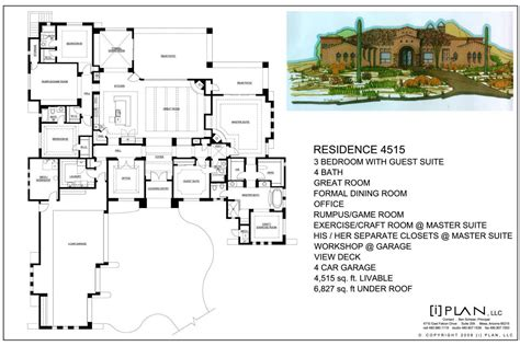 house plans for 5000 square feet ranch house plans 5000 square feet house design ideas