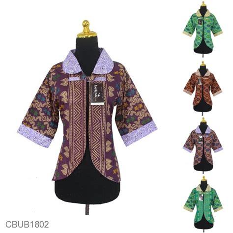 Rompi Batik Bolak Balik Sogan baju batik bolero bolak balik motif songket kombinasi