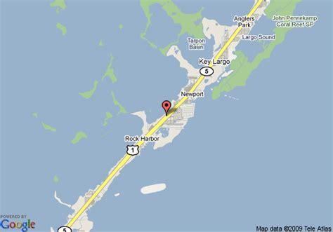 where is key largo florida map map of key largo inn key largo