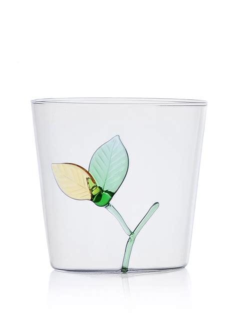 ichendorf bicchieri bicchiere ichendorf collezione greenwood foglie
