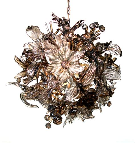 Nature Chandelier Form Chandelier Eclectic Chandeliers New York By Elizabeth Lyons Glass
