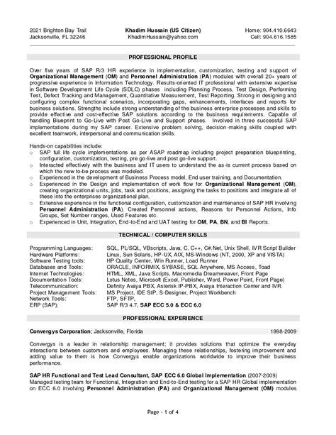 sap abap workflow resume resume ideas