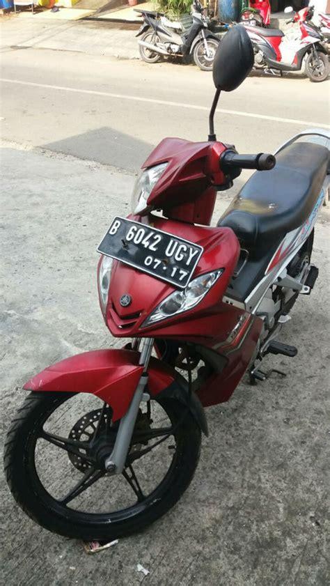 Motor Jupiter Mx 2007 dijual motor jupiter mx 2007 warna marun jual motor yamaha jupiter mx jakarta timur