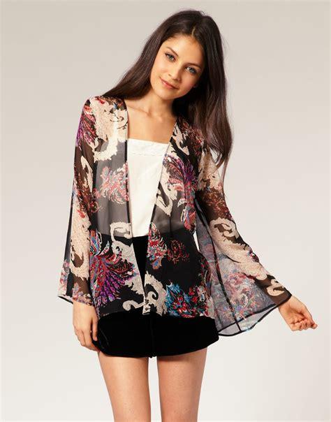 Kimono Silk Top Lx 629 the gallery for gt black kimono jacket
