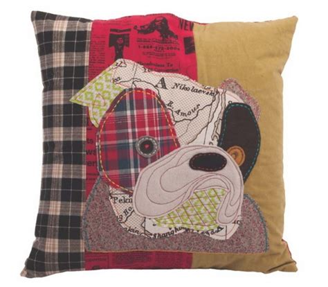 pug cushion covers pug collage patchwork cushion cover