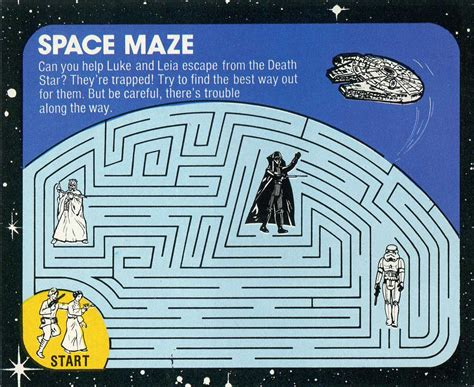 printable hamburger maze 6 best images of star wars mazes printable star wars