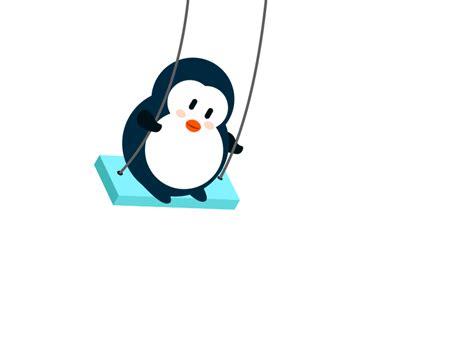 penguin swing the swing penguin by salefish dribbble