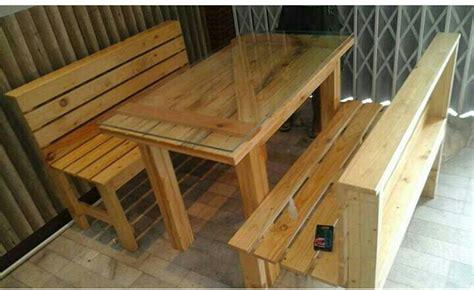 membuat meja  kayu palet desainrumahidcom