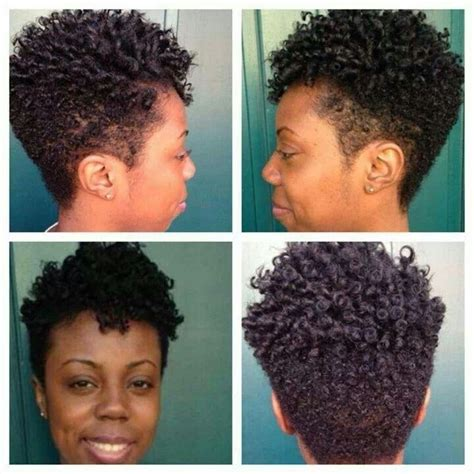 pictures of tapered curly hair cuts tapered twa back view google search cut up pinterest