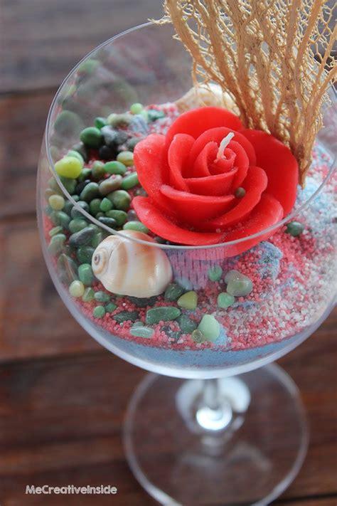 vasi con sabbia colorata centrotavola calice di sabbia colorata me creativeinside