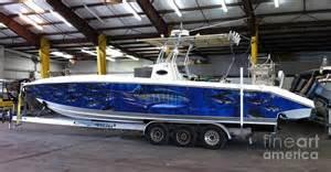 fine art boat wraps digital art by carey chen