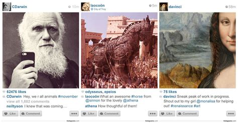 design history instagram what if there was instagram throughout history 171 twistedsifter