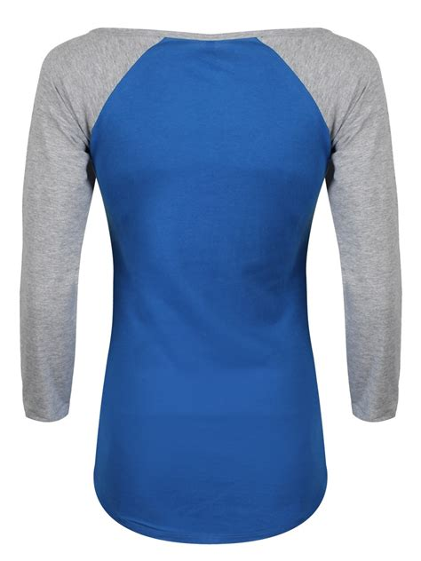 Raglan Superheroes 18 Ordinal Apparel dc comics supergirl grey blue raglan sleeve t shirt buy at grindstore