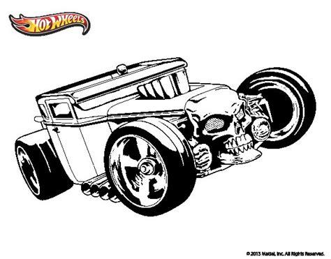 imagenes de hot wheels para imprimir dibujo de hot wheels bone shaker para colorear dibujos net