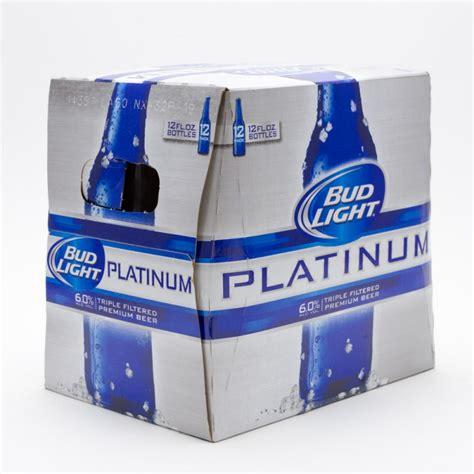 bud light bottle oz bud light platinum 12oz bottle 12 pack wine