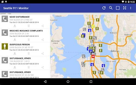realtime911 seattle seattle 911 incidents monitor android apps on play