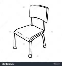 White classroom chair clip art clipart