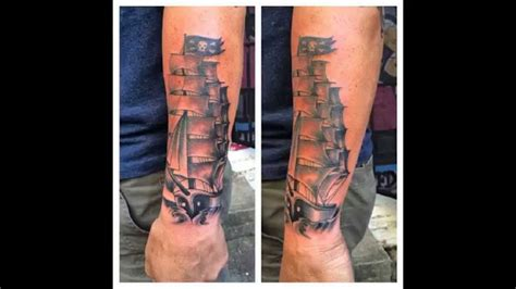 50 best pirate ship tattoo meaning and designs masters