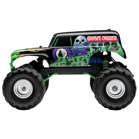 grave digger radio truck grave digger 2wd truck rtr w 2ch am radio