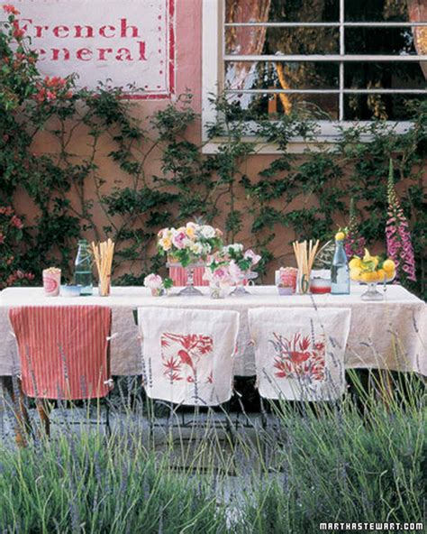 outside party ideas outdoor party ideas martha stewart