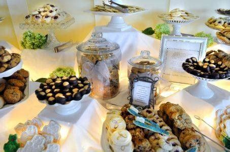 merry brides cookie buffet