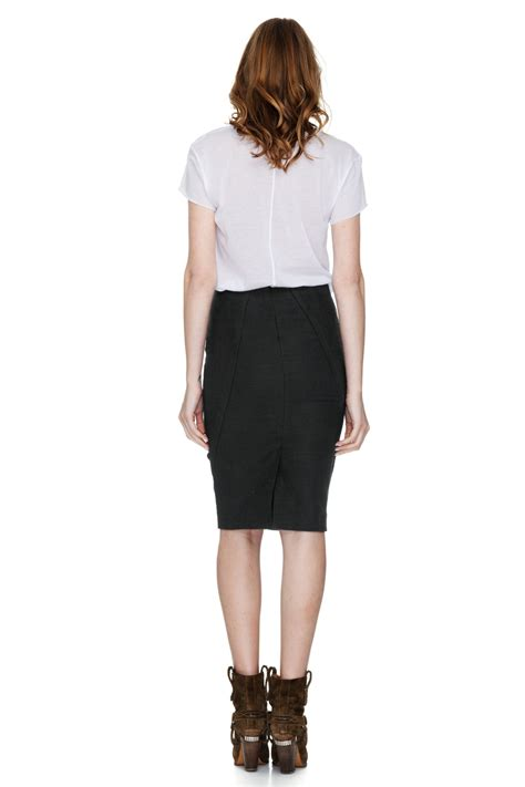 Black Pencil Skirt black pencil skirt pnk casual