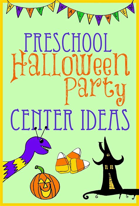 halloween themes for daycare halloween party center ideas for preschool kindergarten