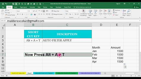 Spreadsheet Key by Alt A T Shortcut Key With Exle In Ms Excel