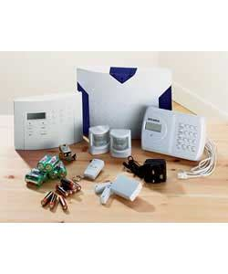 get wirefree alarm system with autodialler home security