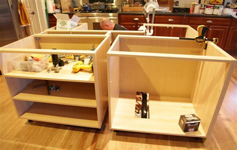 how to install kitchen island ikea hack how we built our kitchen island jeanne oliver