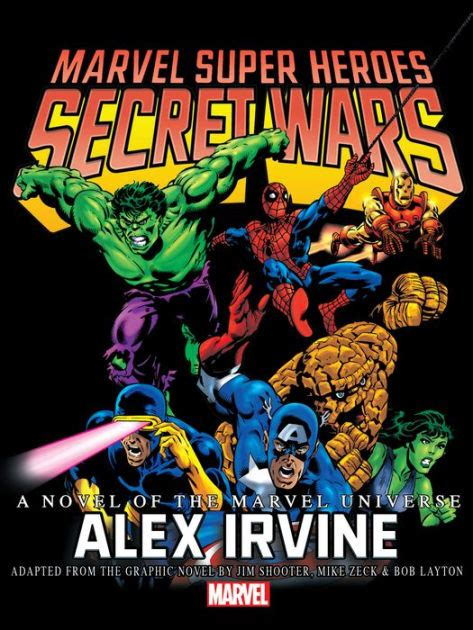 marvel super heroes secret 1846535891 marvel super heroes secret wars prose novel by marvel comics nook book ebook barnes noble 174