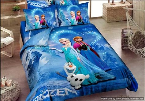 disney frozen blue single twin queen quilt covers bedding