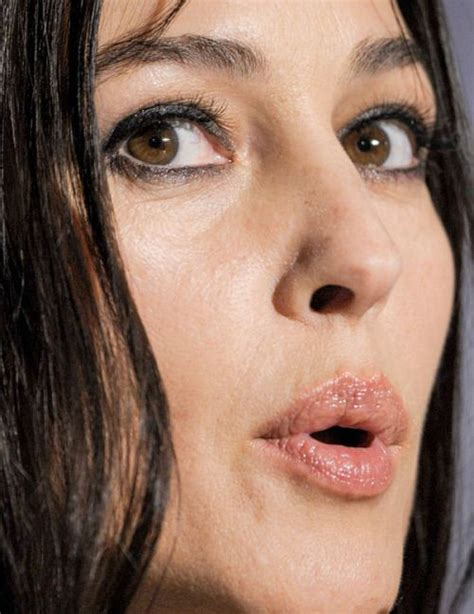 monica bellucci close up 95 best celebrities unflattering gorgeous close ups images