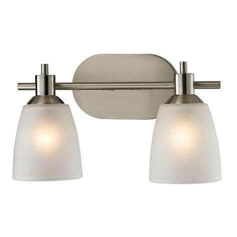 lights jackson tn titan lighting jackson 2 light brushed nickel wall mount